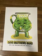 2006 Dave Matthews Band Poster Noblesville Concert Poster Signed Ap Kool Aid