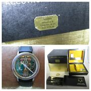 Vintage Accutron Spaceview Ss 1969 Original Chapter Ring W/ Boxes And Extras