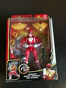 Power Rangers Megaforce Armored Mighty Morphin Red Ranger Figure 20 Anniversary
