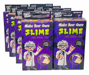 Lot Of 8 Diy Science Kits Make Your Own Slime With Glitter Mix Kids Craft
