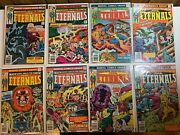 The Eternals Complete Set 1-19 And Annual 1 1976 Movie Soon Read