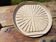 Vintage Anchor Hocking Microware Microwave Bacon Cooker Round Tray Pm446-ti