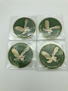 Lowriderhydraulicswire Wheel Knock Offzenith Green And Gold Chip 4pcs