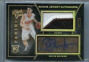 2015-16 Panini Black And Gold Devin Booker Auto Patch Rc Rookie /25