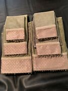 2 Bath 2 Hand And 2 Fingertip Towels Towels Decorative Marshall Fields Vintage
