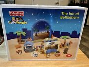 Fisher Price Little People The Inn At Bethlehem Nativity Set New In Sealed Bags