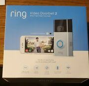 New Ring Video Doorbell 2 And Hd Video Motion Activated Alerts Easy Installation