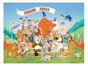 Warner Brothers Unsung Tunes Hand Painted Cel
