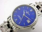 Ulysse Nardin San Marco 133-77-9 Automatic Blue Enamel Dial Stainless Mens