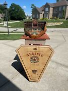 Full Size Old Century Baseball All Wood Construction Pinball Style Game.
