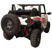 Tusk Hitch Mounted Spare Tire Carrier - Fits Polaris General Xp 1000 2020-2021
