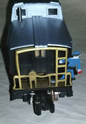 American Flyer Gilbert 24642 Animated Nh New Haven Square Window Black Caboose