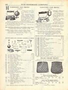 1920s Antique Hardware Ad Gasoline Sad Irons And Repair Parts-fire Chair Seats