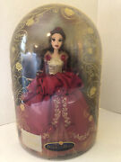 Disney Store Deluxe Collectable Belle Beauty And The Beast Limited Edition Doll