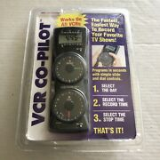 Vtg Vcr Copilot Timer Remote Record Your Favorite Tv Shows Works On All Vcrs New