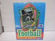 Topps 1986 Football Non X Out Wax Box And 36 Packs Poss Rice Rc 071621mgl
