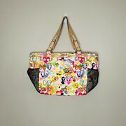 Tokidoki For Le Sportsac Large Over The Shoulder Tote Bag Keychain Figurine Y2k