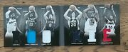 2011 Panini Preferred Rookie Booklet /99 6 Patches Wall, Hayward +