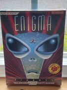Enigma Pinball New Sealed Rare Vintage 3.5andrdquo Disk Dos Pc Version Video Game Art