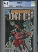 Jonah Hex 36 Mt 9.8 Cgc Highest 1 Of 1 White Pages Ayers Art Fleisher Story