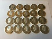 2002 S To 2007 S Kennedy Proof Silver Half Dollar Mixed Roll 90 20 10 Face