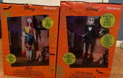 6ft Animated Jack And Sally From Nightmare Before Christmas Halloween Prop