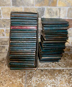 Little Leather Library Set Of 48 Early 1900s Miniature Books