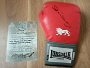 Kell Brook Hand Signed 16oz Red Lonsdale Boxing Glove Autograph With Coa