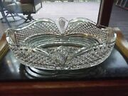 Huge 14 Bowl Lead Crystal Glass Signed Waterford Master Cutters Collection Rare