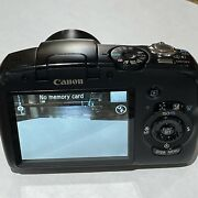 Canon Powershot Sx120 Is Black 10x Optical Zoom Clear Photography Digital Camera