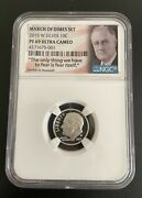 2014 W Roosevelt Proof 69 March Of Dimes Ultra Cameo Dime