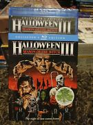 Halloween Iii 3 Season Of The Witch Collectors Edition W/slipcover Blu-ray New