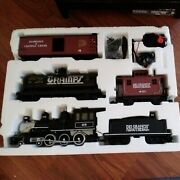 Bachmann Big Haulers Rocky Mountain Express Complete G-scale Electric Train Set