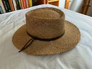 Lot Of 4 Menand039s Or Womenand039s Wide-brimmed Hats 23.5 Inches Inside Diameter Exc Cond