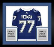 Frmd Victor Hedman Lightning Signed Blue Authentic Jersey And 2020 Sc Final Patch