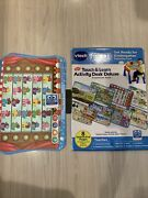 Vtech Touch And Learn Activity Desk Deluxe Expansion Get Ready For Kindergarten