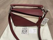 Loewe Puzzle Bag Small Tricolor New