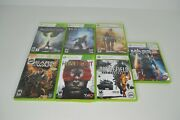 Lot Of 7 Xbox 360 Games Gears Of War Cod Halo 4 Dragon Age Battlefield Homefront