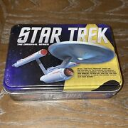 Star Trek The Original Series Playing Cards 2014 Collectible Gift Tin Brand New