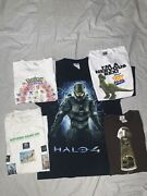 Vintage T Shirt Lot Men's And Youth Size M L Xl Pre Owned Toy Story Halo Pokemon