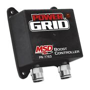Msd 7763 Power Grid Boost Controller With Advanced Individual Cylinder Timing