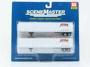 Ho Scale Walthers Scenemaster 949-2458 Xtra 53' Stoughton Trailer 2-pack Sealed
