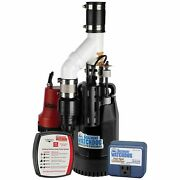 Basement Watchdog Cite-33 - 1/3 Hp Combination Primary And Backup Sump Pump ...