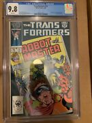 Transformers 15 Cgc 9.8 White Pages New Case Hard To Find 🔥🔥🔥