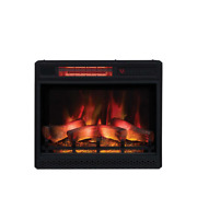 Classic Flame Electric Fireplace 120v 1500w 5200 Btu Programmable Thermostat
