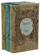 Lord Of The Rings Trilogy J.r.r. Tolkien First Us Edition Set 16/13/13 1st Jrr