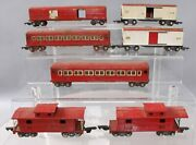 American Flyer Vintage O Gauge Freight And Passenger Cars 484, 478, 494, 495 [7]