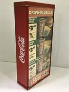Vintage Sonic Drive-in Restaurant Flange Double-sided Sign Menu 18.5andrdquo X 8.5andrdquo