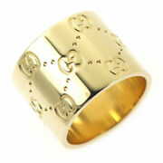K18yg Ring Icon Wide No.8 - Auth Selby_japan