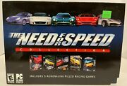 Need For Speed Collection Pc 5 Need For Speed Games Ea 2003 Big Box Rare New